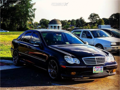 2007 Mercedes-Benz C230 - 19x9.5 35mm - Niche Misano - Coilovers - 245/35R19