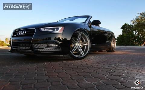 2013 Audi RS5 - 20x10.5 30mm - K3 Projekt F2 - Lowered on Springs - 275/30R20