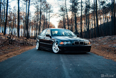 2000 BMW 3 Series - 18x8 33mm - Artec P Turbo - Coilovers - 215/35R18