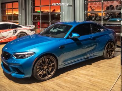 2020 BMW M2 - 20x9 25mm - HRE Ff04 - Stock Suspension - 245/30R20