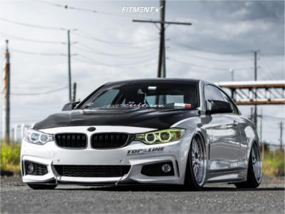 2016 BMW 428i xDrive - 20x9 20mm - ESR Sr01 - Air Suspension - 235/35R20