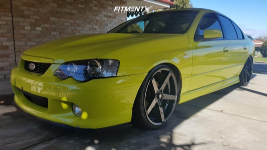 2002 Ford Falcon XR6 - 20x8.5 35mm - King Hostile - Coilovers - 225/35R20