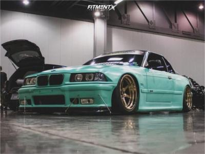 1999 BMW 328i - 18x11 8mm - Cosmis Racing XT-006R - Air Suspension - 285/35R18