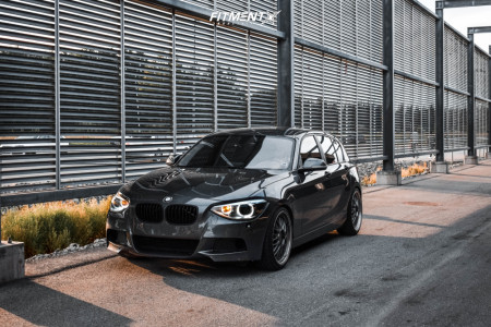 2013 BMW 128i - 19x8.5 34mm - Ocean DTM - Lowering Springs - 235/35R19