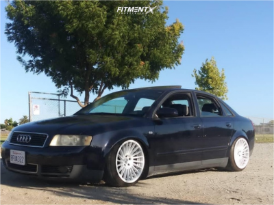 2002 Audi A4 Quattro - 18x9.5 35mm - Rotiform Ind-t - Coilovers - 225/40R18