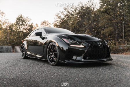 2015 Lexus RC F - 20x8.5 36mm - Rays Engineering G25 - Coilovers - 245/35R20