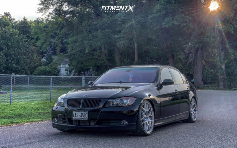 2008 BMW 335i xDrive - 19x8.5 35mm - BMW Style 359 - Coilovers - 235/35R19