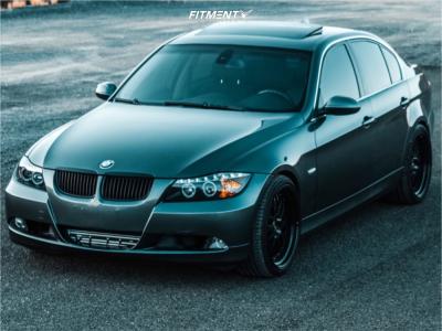 2007 BMW 335is - 19x9.5 35mm - ESR Sr05 - Stock Suspension - 235/30R19