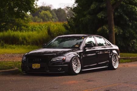 2012 Audi A4 Quattro - 19x10.5 13mm - BC FORGED Mle81 - Air Suspension - 225/40R19