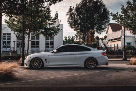 2016 BMW 435i - 19x8.5 35mm - ESR Rf2 - Coilovers - 255/35R19