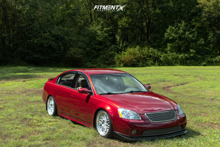 2003 Nissan Altima - 18x8.5 35mm - Aodhan Ah02 - Coilovers - 225/40R18