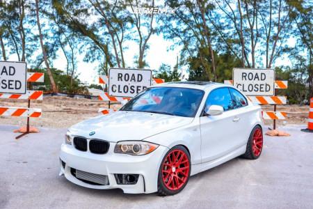 2013 BMW 135i - 18x8.5 35mm - ESR Sr12 - Coilovers - 235/35R18