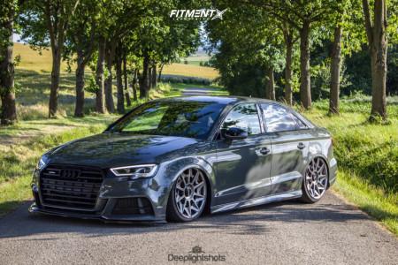 2018 Audi A3 Quattro - 19x8.5 45mm - Rotiform Cvt - Air Suspension - 225/35R19