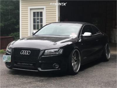 2012 Audi S5 - 20x10.5 10mm - Heritage Ebisu Directional - Coilovers - 245/35R20
