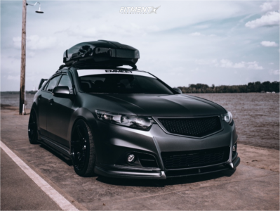 2010 Acura TSX - 18x9 27mm - Cosmis Racing S5r - Coilovers - 275/35R18