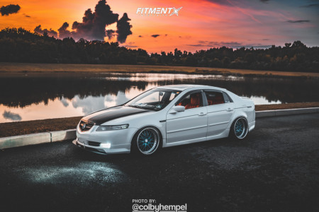 2005 Acura TL - 19x10.5 10mm - Work Rezax Ii - Coilovers - 225/25R19