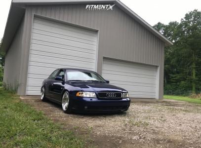 2001 Audi A4 Quattro - 18x9.5 40mm - WatercooledIND Sb10 - Air Suspension - 225/40R18