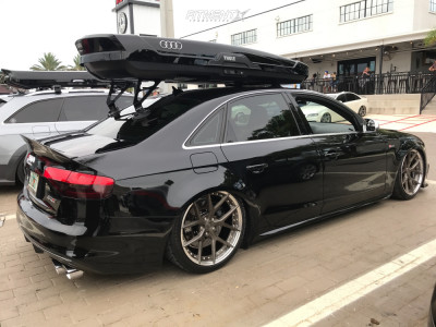 2013 Audi S4 - 19x9.5 40mm - BC FORGED HBR2S - Stock Suspension - 255/35R19