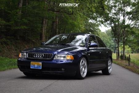 2001 Audi A4 Quattro - 18x8.5 45mm - Motegi Mr136 - Lowering Springs - 225/40R18