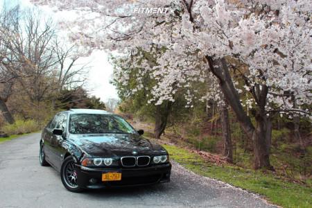 2003 BMW 530i - 17x9 45mm - BBS Rs - Lowering Springs - 245/35R17