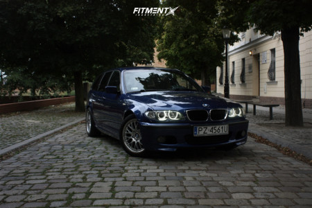 2004 BMW 3 Series - 17x8 47mm - BBS Rs - Stock Suspension - 225/45R17