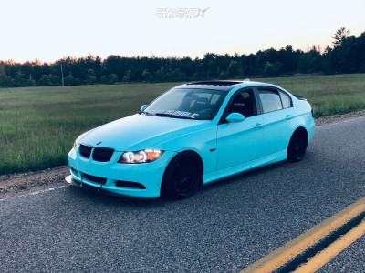 2007 BMW 328xi - 18x9.5 22mm - Aodhan Ds07 - Coilovers - 225/35R18