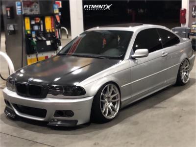 2002 BMW 330Ci - 18x9.5 22mm - ESR Sr08 - Coilovers - 215/35R18