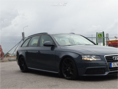 2009 Audi A4 - 19x8.5 35mm - Japan Racing Jr21 - Coilovers - 215/35R19