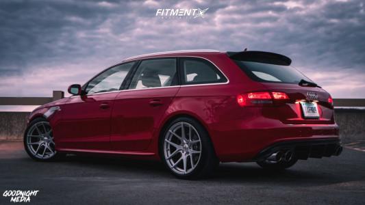 2012 Audi A4 Quattro - 19x9.5 39mm - TSW Geneva - Lowering Springs - 265/35R19