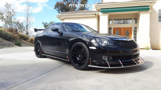 2005 Chrysler Crossfire - 18x8.5 35mm - Forgestar F14 - Coilovers - 235/35R18