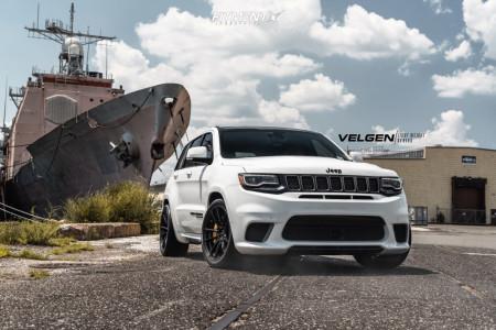 2018 Jeep Grand Cherokee - 20x10.5 34mm - Velgen Vf5 - Lowering Springs - 315/35R20
