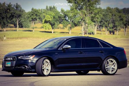 2013 Audi S6 - 20x8.5 42mm - Lexani Bavaria - Stock Suspension - 255/35R20