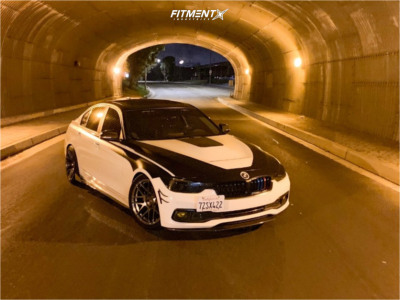 2017 BMW 320i - 18x8.5 30mm - ESR Rf1 - Coilovers - 235/40R18