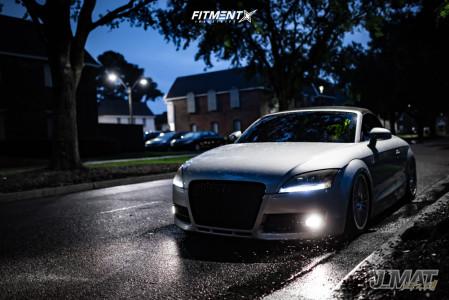 2008 Audi TT Quattro - 18x9.5 45mm - Rotiform Ind-t - Air Suspension - 235/35R18