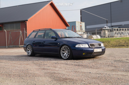 2000 Audi A4 - 18x9.5 35mm - 3SDM 0.01 - Coilovers - 215/35R18