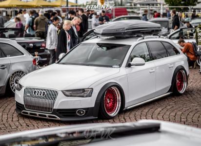 2013 Audi A4 allroad - 19x11 26mm - Work Gran Seeker Ccx - Air Suspension - 255/30R19