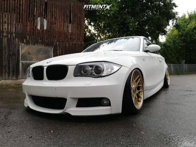 2010 BMW 128i - 18x8.5 23mm - BBS RS2 700 - Air Suspension - 225/35R18