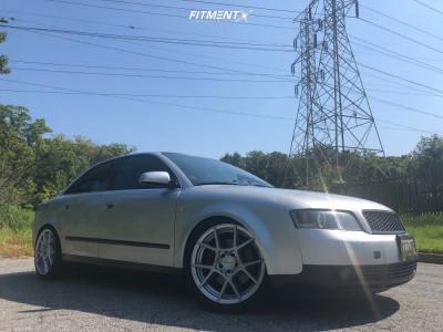 2002 Audi A4 Quattro - 18x8.5 35mm - Rotiform Kps - Coilovers - 225/40R18