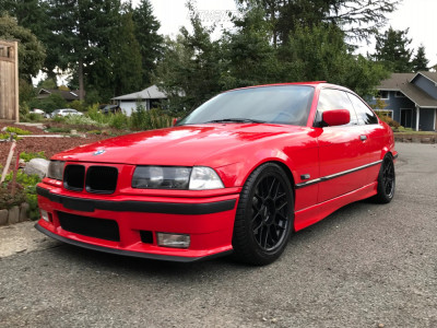 1996 BMW 328is - 17x8.5 41mm - Apex Arc-8 - Coilovers - 245/40R17