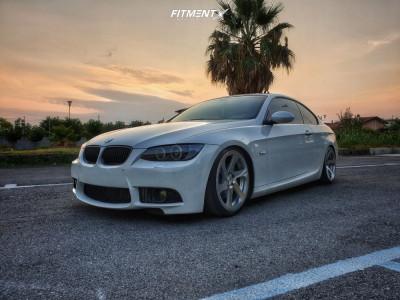 2009 BMW 3 Series - 19x8.5 35mm - 3SDM 0.06 - Lifted - 225/35R19