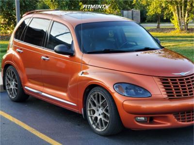 2003 Chrysler PT Cruiser - 18x8 35mm - TSW Nurburgring - Coilovers - 225/40R18