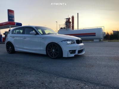 2007 BMW 1 Series M - 19x8.5 21mm - Vossen Vfs1 - Coilovers - 215/35R19