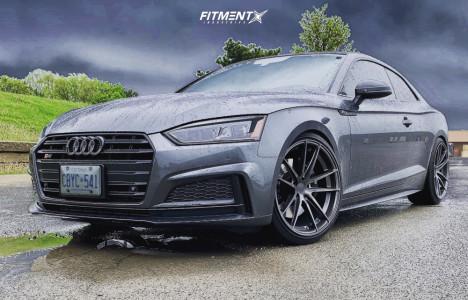 2018 Audi S5 - 20x10.5 30mm - Stance Sc1 - Lowering Springs - 275/30R20