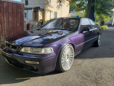 1994 Acura Legend - 20x8.5 35mm - Rotiform Ind-t - Coilovers - 235/35R20