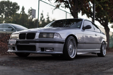 1999 BMW 323is - 17x8 20mm - BBS Rc - Coilovers - 215/40R17