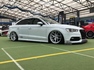 2014 Audi A3 - 19x8.5 35mm - Rotiform Flg - Air Suspension - 215/30R19