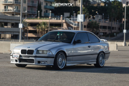 1999 BMW 323is - 17x8 20mm - BBS Rc090 - Coilovers - 215/40R17