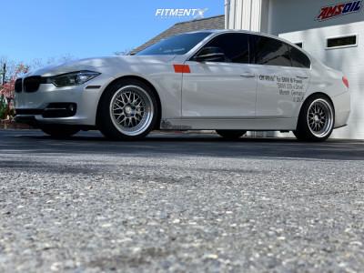 2015 BMW 335i xDrive - 18x9.5 35mm - ESR Sr01 - Lowering Springs - 245/40R18