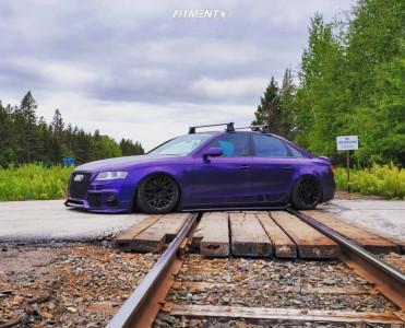 2012 Audi A4 - 18x8.5 35mm - Rotiform Blq - Air Suspension - 225/30R18