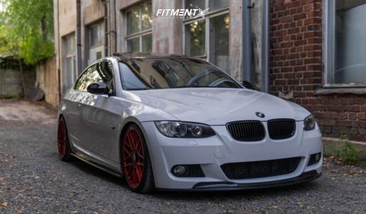 2008 BMW 3 Series - 19x8.5 35mm - Rotiform Rse - Lowering Springs - 225/35R19